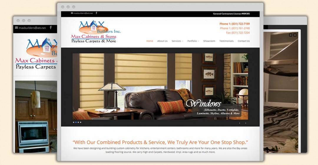 Max Builders Inc Website