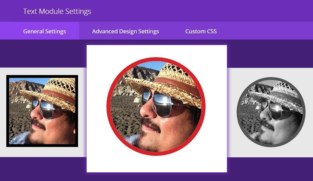 Styling Text Images in Divi
