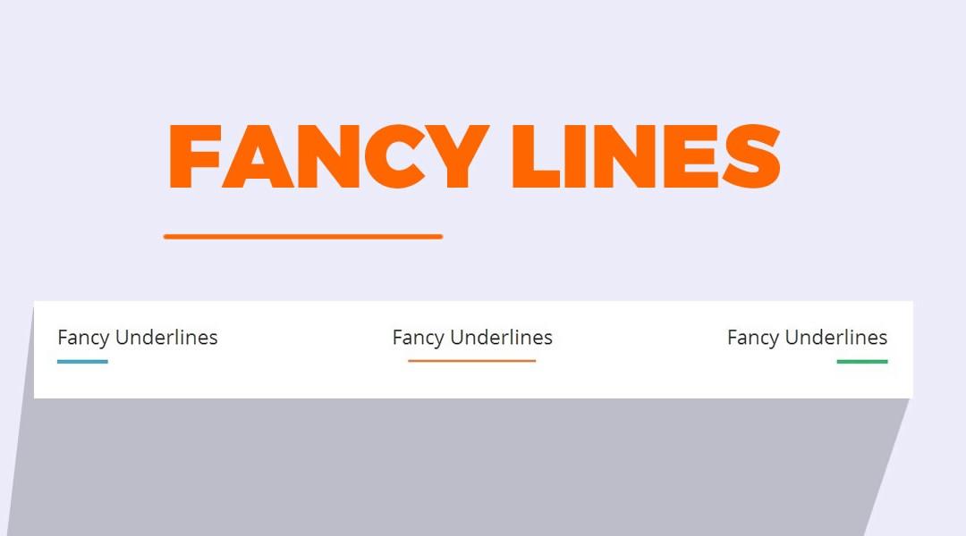 Creating Cool Fancy Lines in Divi