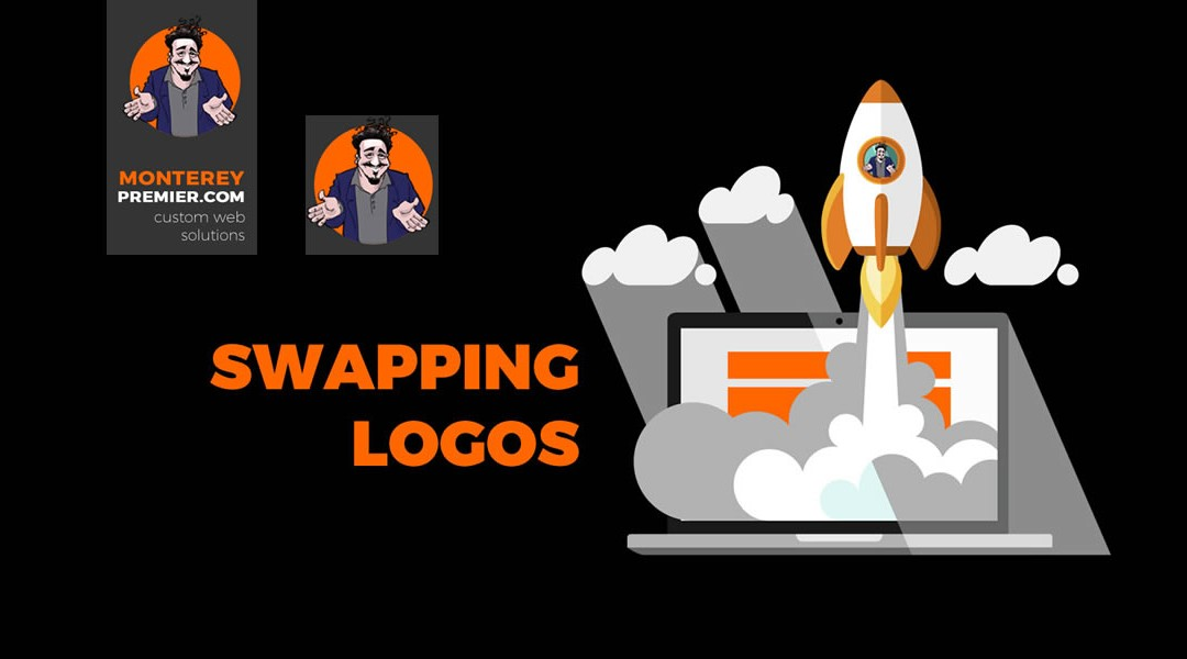 Swap a Vertical Logo with a Horizontal or Square Logo on Scroll