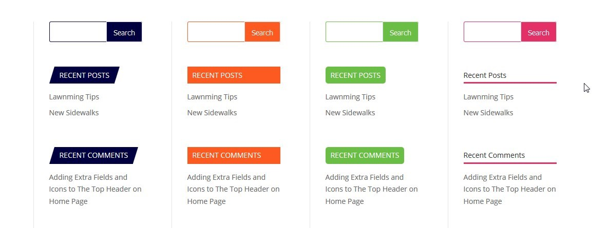 Modify Your Divi Search Widget and Widget Titles Image
