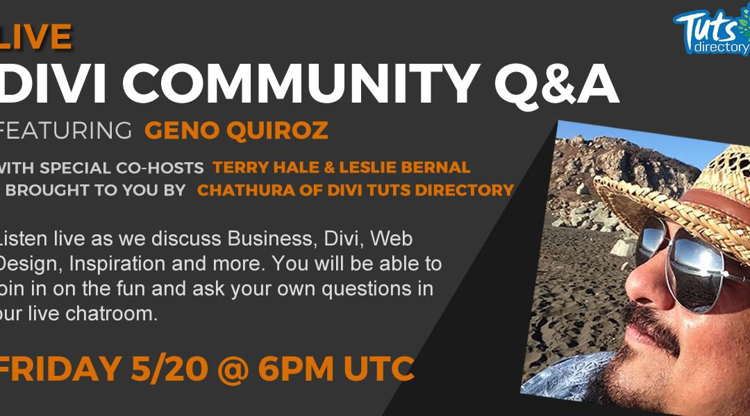 Live Divi Community Q&A – Episode 5