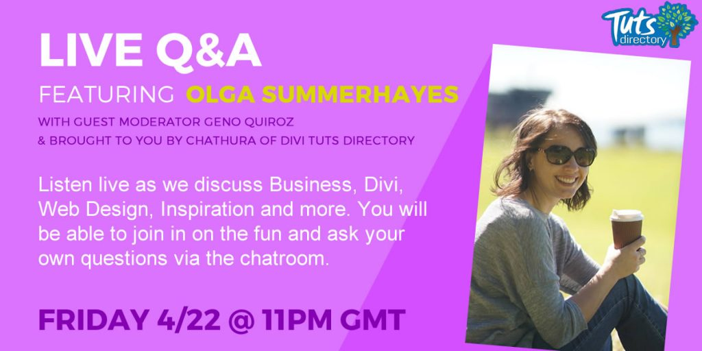 1200x600 featured image - Q&A with Olga