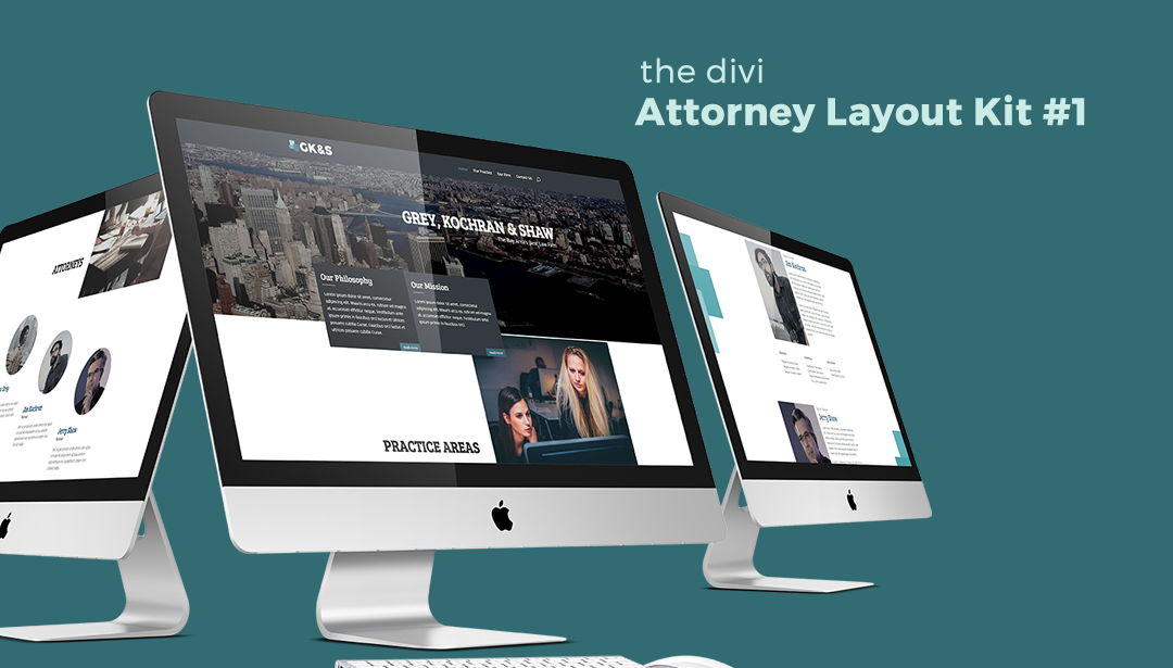 Attorney Layout Kit #1 for Divi