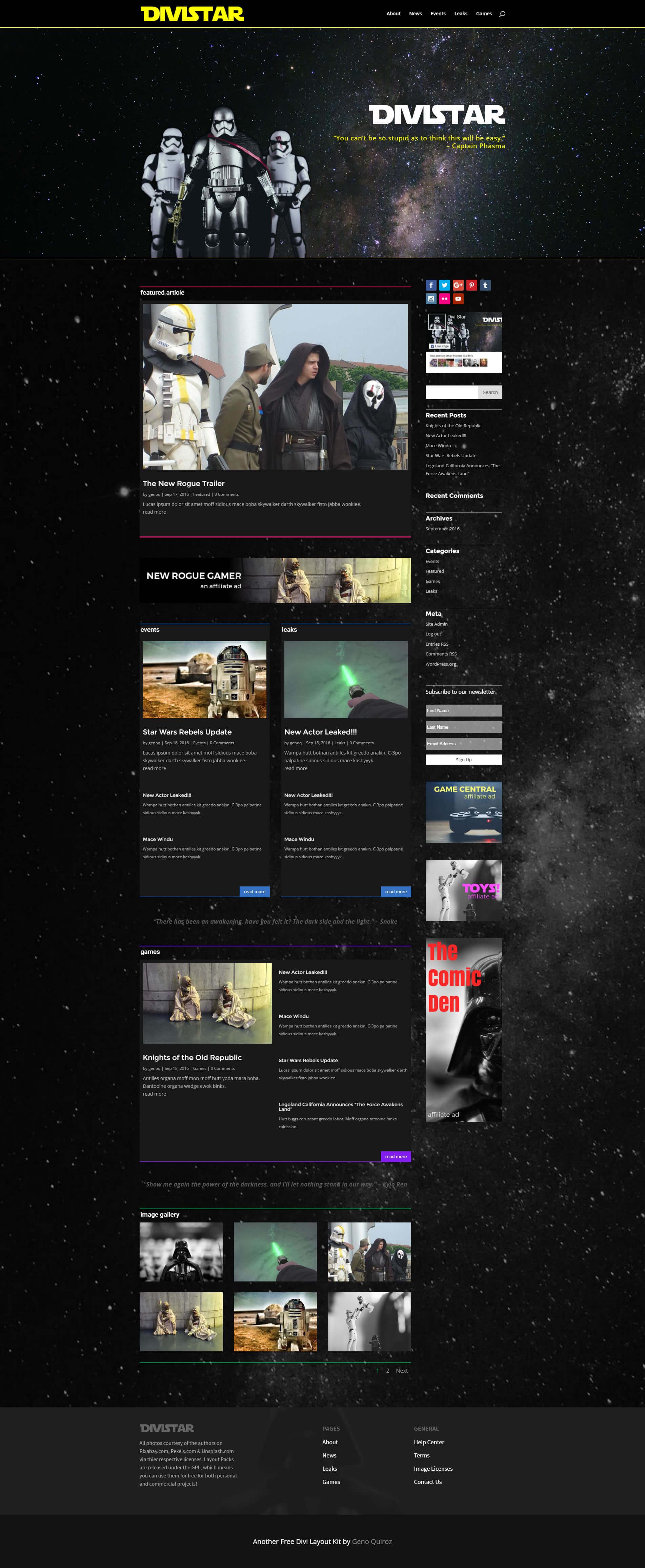 divistar-home-page