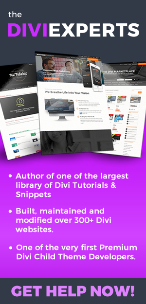 The Divi Experts
