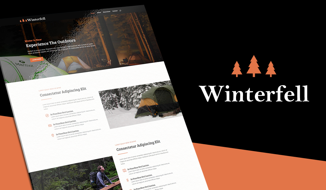 Winterfell | A Divi Layout Pack For Outdoor Enthusiasts
