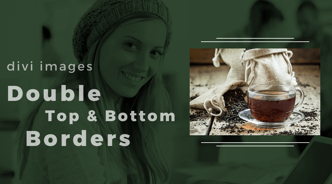 How To Add Double Top & Bottom Borders Around An Image