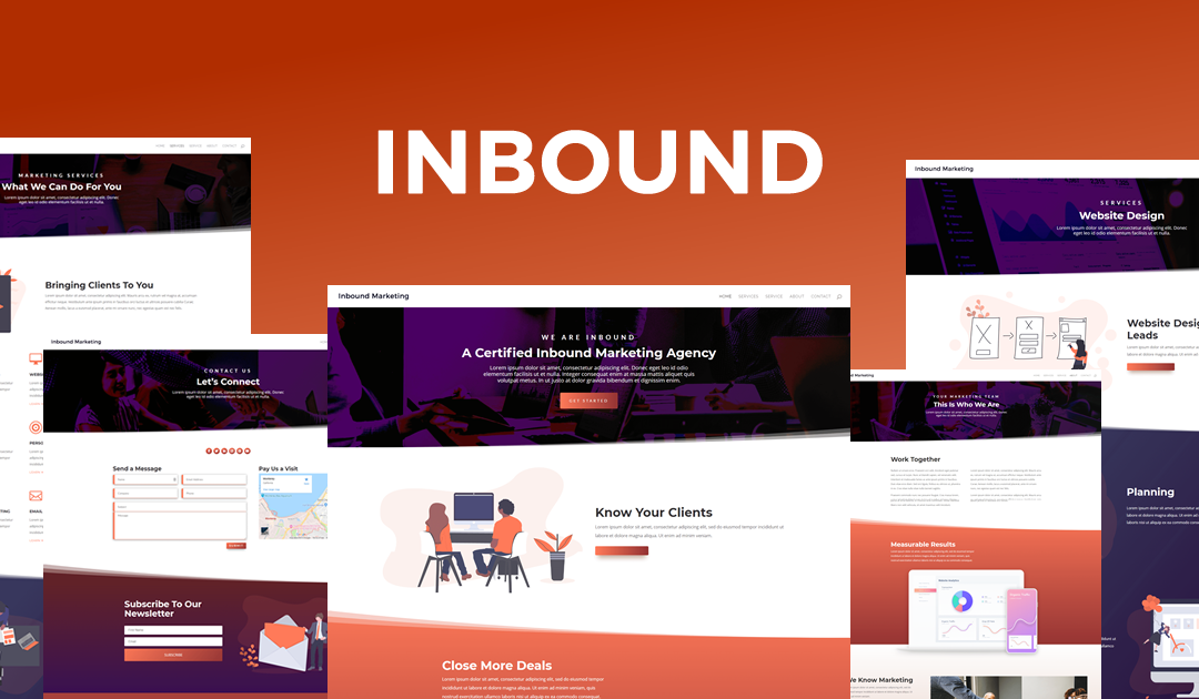 Get a FREE Inbound Marketing Layout Pack for Divi