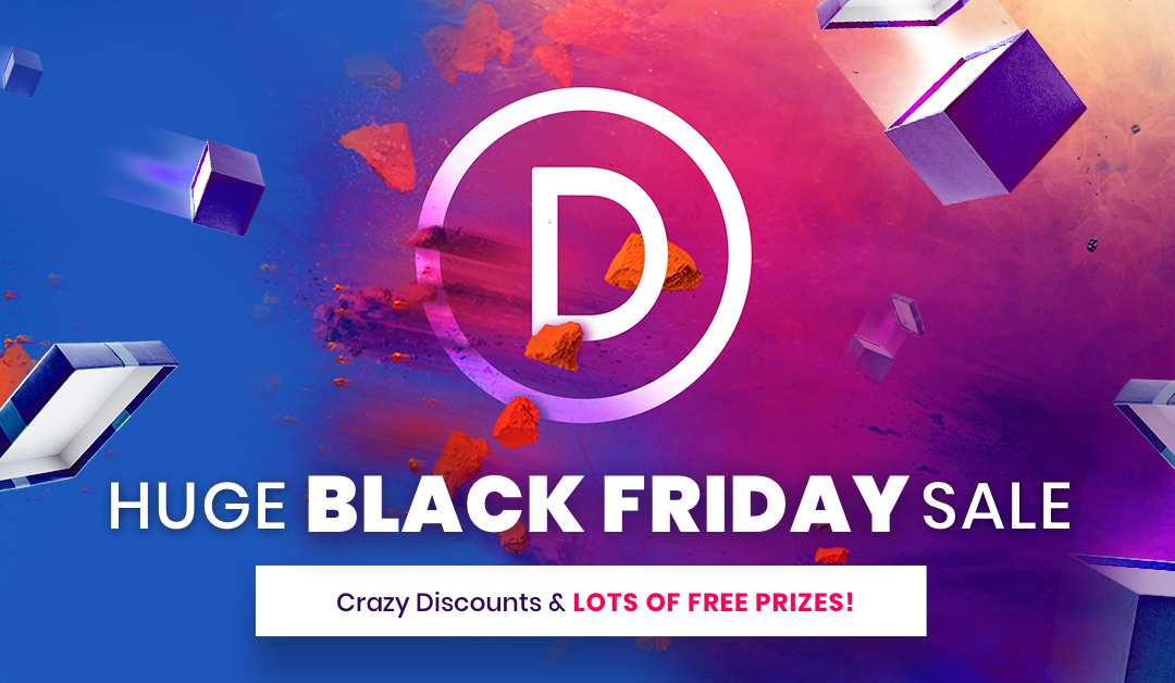 Partnering with Elegant Themes for Black Friday 2018